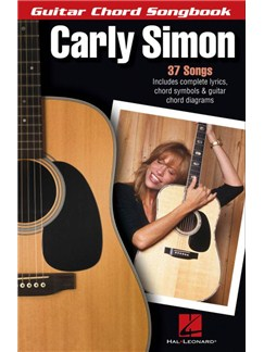 Carly Simon: Guitar Chord Songbook Books | Lyrics & Chords, Guitar