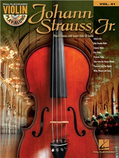 Violin Play-Along: Johann Strauss Books | Violin