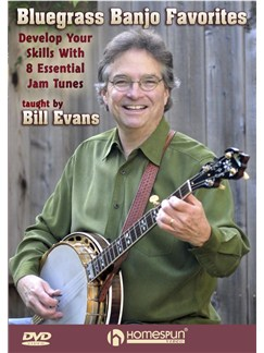 Bill Evans: Bluegrass Banjo Favorites DVDs / Videos | Banjo