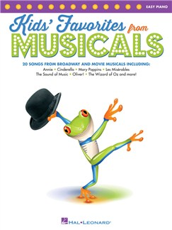Kids' Favorites From Musicals Books | Piano, Keyboard