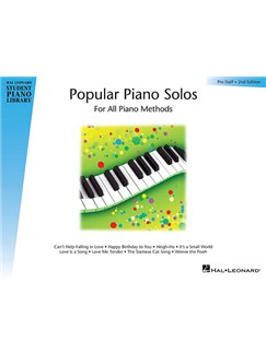 Hal Leonard Student Piano Library: Popular Piano Solos – Prestaff Level (2nd Edition) Books | Piano