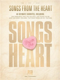 Songs From The Heart (PVG) Books | Piano, Vocal & Guitar