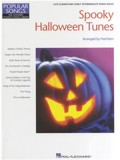 Student Piano Library: Spooky Halloween Tunes Books | Piano