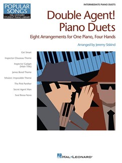 Hal Leonard Student Piano Library: Double Agent! Piano Duets - Intermediate Books | Piano Duet