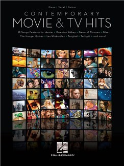 Contemporary Movie & TV Hits Livre | Piano, Chant et Guitare