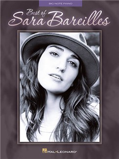Best Of Sara Bareilles (Big Note Piano) Books | Piano (Big Notes)