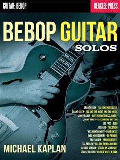 Michael Kaplan: Bebop Guitar Solos Books | Guitar