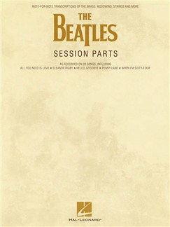 The Beatles: Session Parts Books | All Instruments