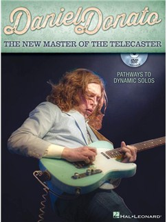 Daniel Donato: The New Master Of The Telecaster (Book/DVD) Books and DVDs / Videos | Guitar Tab