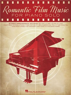 Romantic Film Music For Piano Solo Books | Piano