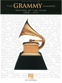 The Grammy Awards® Record Of The Year 1958-2011 - Easy Guitar Tab Books | Guitar