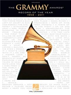 The Grammy Awards® Record Of The Year 1958-2011 - Ukulele Books | Ukulele, Lyrics & Chords