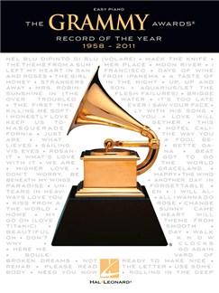 The Grammy Awards® Record Of The Year 1958-2011 (Easy Piano) Books | Easy Piano, Voice