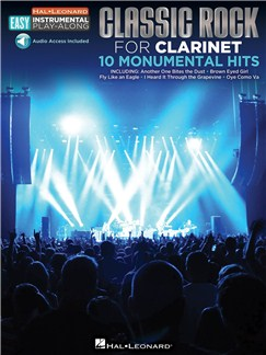 Clarinet Easy Instrumental Play-Along: Classic Rock (Book/Online Audio) Books and Digital Audio | Clarinet