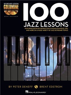 Keyboard Lesson Goldmine: 100 Jazz Lessons (Book/2 CDs) Books and CDs | Keyboard