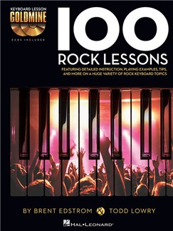 Keyboard Lesson Goldmine: 100 Rock Lessons (Book/2 CDs) Books and CDs | Keyboard