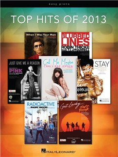 Top Hits Of 2013 Books | Easy Piano