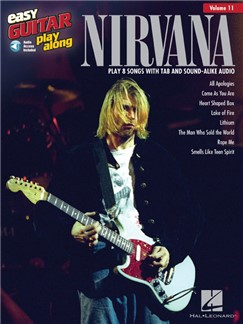 Easy Guitar Play-Along Volume 11: Nirvana (Book/Online Audio) Books | Guitar