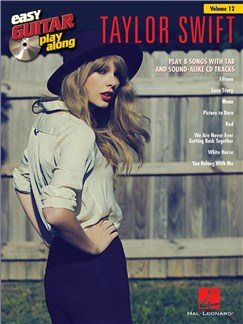 Easy Guitar Play-Along Volume 12: Taylor Swift Books and CDs   Guitar, Easy Guitar Tab