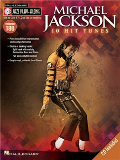 Jazz Play-Along Volume 180: Michael Jackson (Book/CD) Books and CDs | Bass Clef Instruments, B Flat Instruments, C Instruments, E Flat Instruments