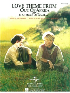 John Barry: Love Theme (Out Of Africa) Livre | Piano