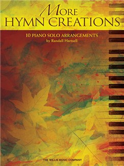 More Hymn Creations: 10 Piano Solo Arrangements Books | Piano