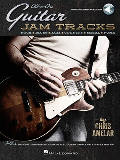 All-In-One Guitar Jam Tracks (Book/Online Audio) Books and Digital Audio | Guitar (with Chord Boxes)