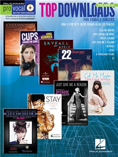 Pro Vocal Women's Edition Volume 62: Top Downloads Books and CDs | Voice