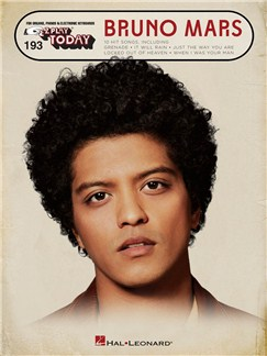 E-Z Play Today Vol. 193: Bruno Mars Books | Piano, Electric Piano, Keyboard, Organ
