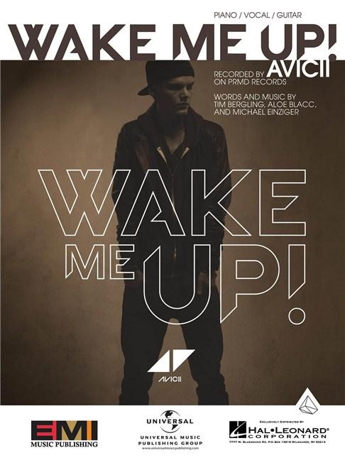 Avicii: Wake Me Up! - Piano & Vocal Sheet Music - Sheet Music ...