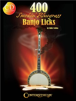 400 Smokin' Bluegrass Banjo Licks Books and CDs | Banjo