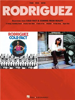Rodriguez: Selections From Cold Fact & Coming From Reality Livre | Piano, Chant et Guitare