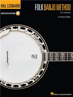 Hal Leonard Folk Banjo Method (Book/Online Audio) Books and Digital Audio | Banjo