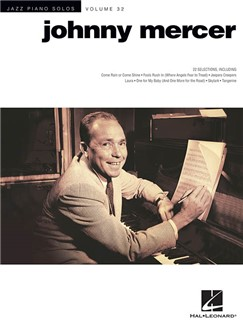 Jazz Piano Solos Volume 32: Johnny Mercer Books | Piano