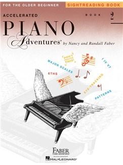 Accelerated Piano Adventures: Sightreading - Book 2 Livre | Piano, Clavier