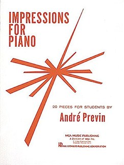Andre Previn: Impressions For Piano Books | Piano