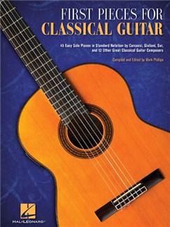 First Pieces For Classical Guitar Livre | Guitare Classique, Guitare