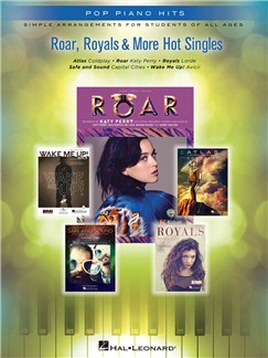 Roar, Royals & More Hot Singles Books | Piano