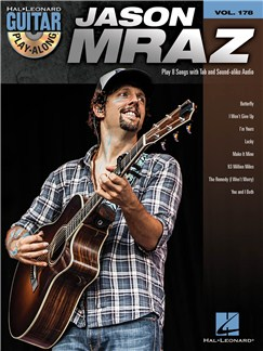 Guitar Play-Along Volume 178: Jason Mraz CD et Livre | Guitare