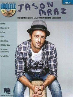 Ukulele Play-Along Volume 31: Jason Mraz (Book/CD) CD et Livre | Ukelele, Paroles Seulement