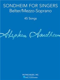 Sondheim For Singers: Belter/Mezzo-Soprano Books | Mezzo-Soprano, Piano Accompaniment