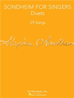 Sondheim For Singers: Duets Books | Voice (Duet), Piano Accompaniment (Duet)