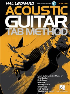 Hal Leonard Acoustic Guitar Tab Method – Book 1 (Book/Online Audio) Books | Guitar