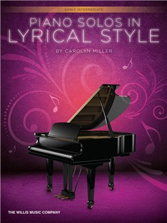 Piano Solos In Lyrical Style Books | Piano