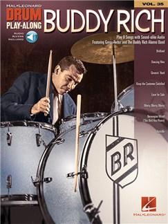 Drum Play-Along Volume 35: Buddy Rich (Book/Online Audio) Audio Digitale et Livre | Batterie