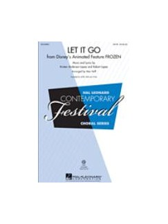 Arr. Mac Huff: Let It Go (From Frozen) Books | 2-Part Choir, Piano Accompaniment