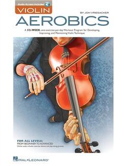 Jon Vriesacker: Violin Aerobics Books | Violin
