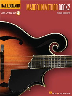 Hal Leonard Mandolin Method – Book 2 (Book/Online Audio) Books and Digital Audio | Mandolin