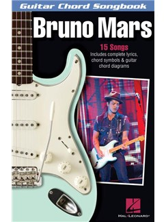 Bruno Mars: Guitar Chord Songbook Livre | Guitare, Paroles et Accords