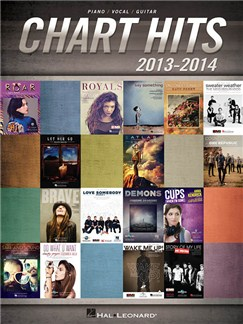 Chart Hits Of 2013-2014 (PVG) Books | Piano, Vocal & Guitar
